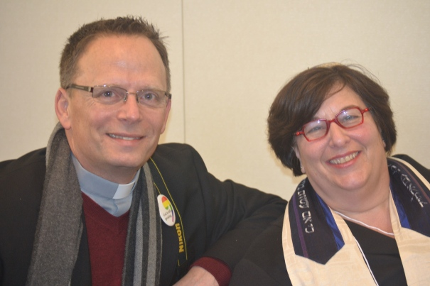 Rev. Mike Schuenemeyer (UCC) and I