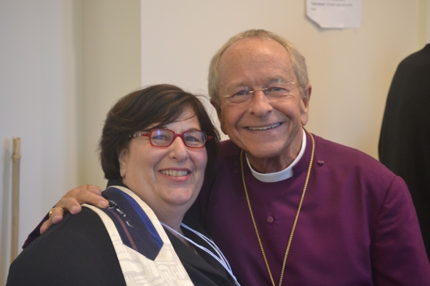 Me and Bishop Gene Robinson, IX Bishop of New Hampshire