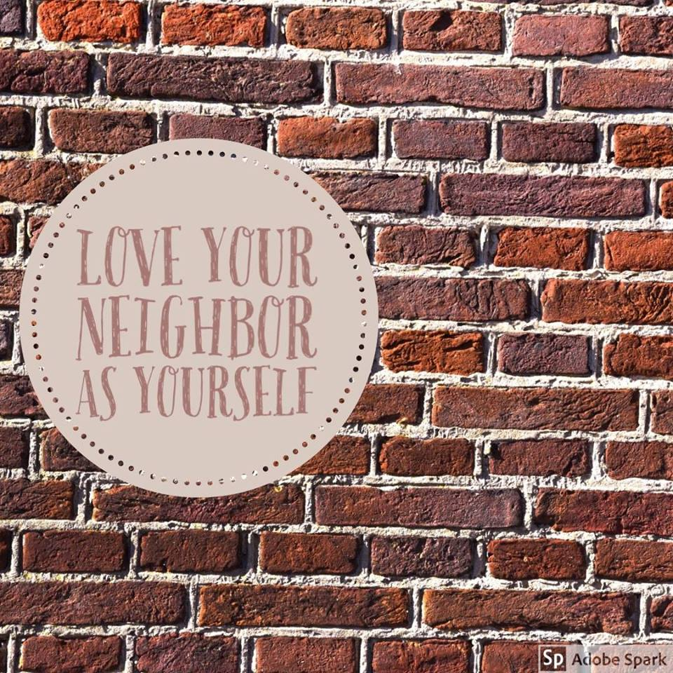 love your neighbor image